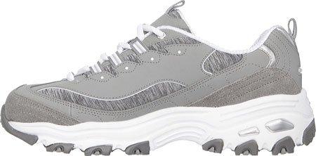 Gray Time Extreme BKW Sneaker D'Lites Me Skechers 11422 White Damen w80x0Pq