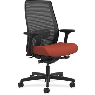HON Endorse Mid-Back Task Chair - Mesh Back Computer Chair for Office Desk, Poppy Fabric price