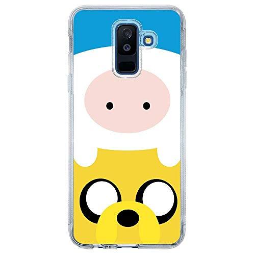 Capa Personalizada Samsung Galaxy A6 Plus A605 Finn and Jake - TV17