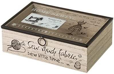 D,casa - Caja costurero de Madera Vintage para Dormitorio France ...