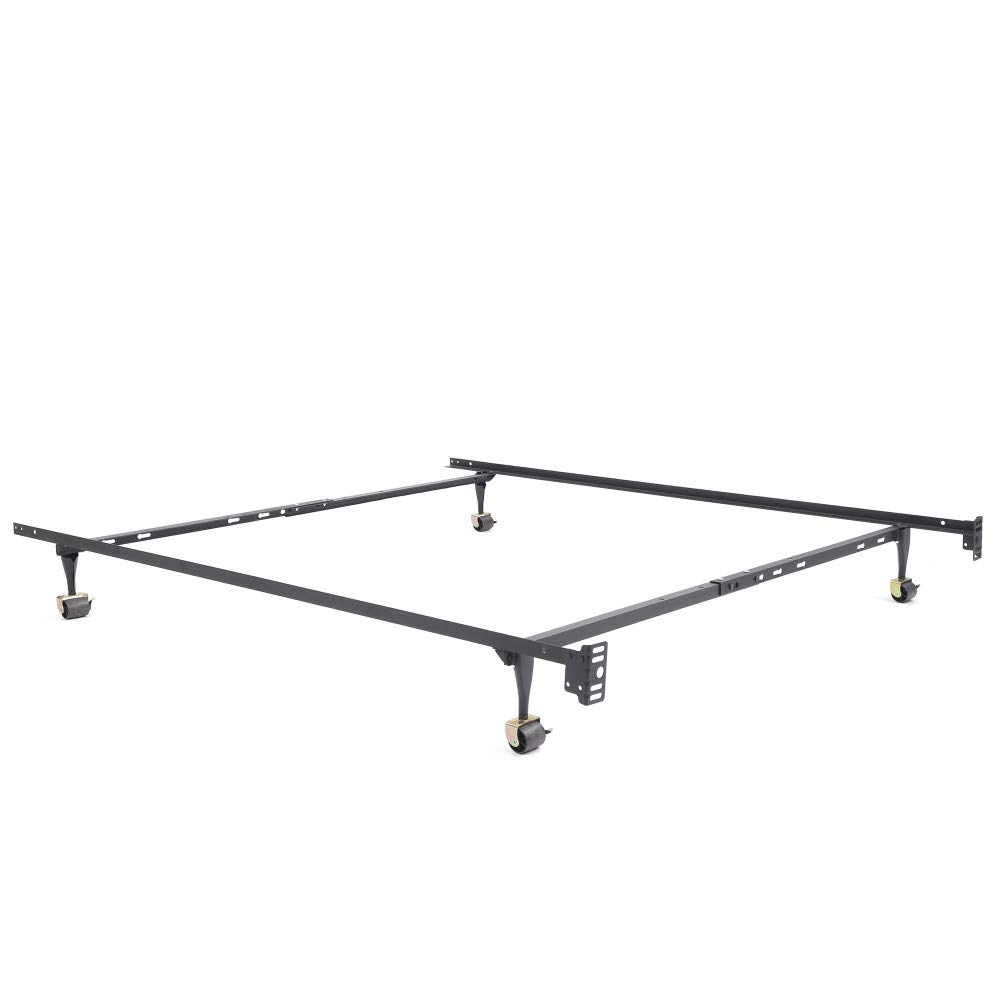 Classic Brands Hercules Standard Metal Bed Frame | Adjustable Width Fits Twin, Twin XL, Full, Queen by Classic Brands