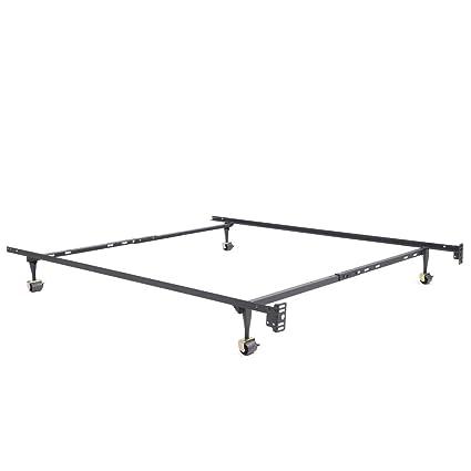 Amazon.com: Classic Brands Hercules Standard Metal Bed Frame