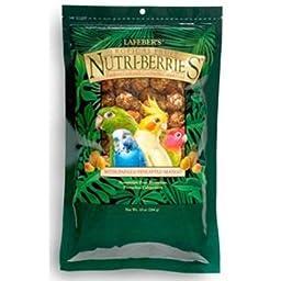 Lafeber`s Nutri-Berries Parakeet, Cockatiel, Lovebird & Conure Food (Tropical Fruit, 10 oz.)