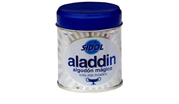 LIMPIAMETALES ALGODON MAGICO ALADDIN: Amazon.es: Industria ...