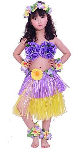 Hula Dancers Costumes - Fighting to Achieve Girls Artificial Hula