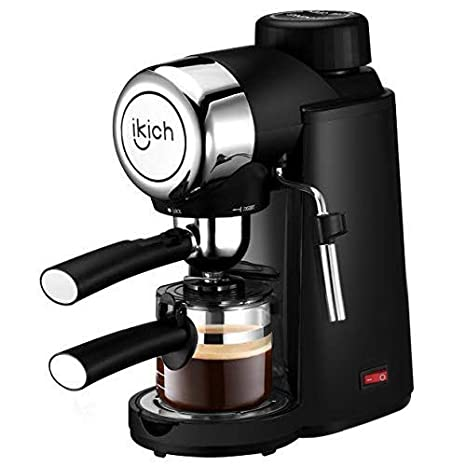 Amazon.com: IKICH Máquina de espresso, 3,5 bar, cafetera de ...