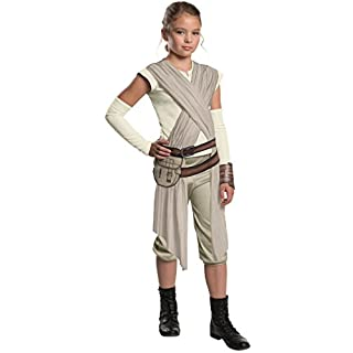 Star Wars: The Force Awakens Child's Deluxe Rey Costume, Medium
