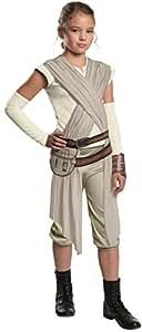 Star Wars Episode VII: The Force Awakens Child's Deluxe Rey Costume, Medium