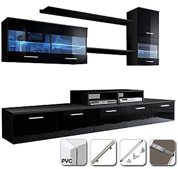 muebles bonitos - Mueble de salón Claudia Mod.9 Puertas PVC ...