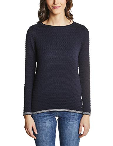 Cecil Para Azul deep Mujer Suéter 10128 Blue qqRfwPr