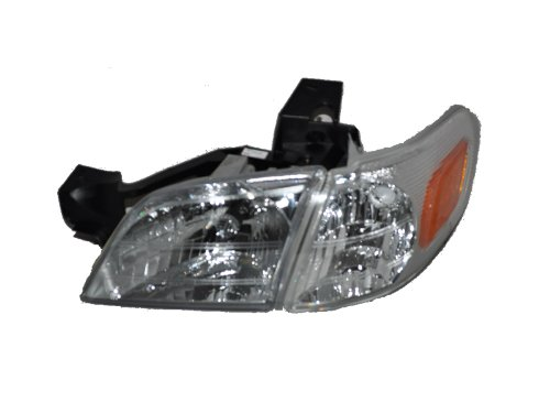 (Headlights Depot Replacement for Chevy Venture Headlight Headlamp And Corner OE Style Replacement Driver Side New)