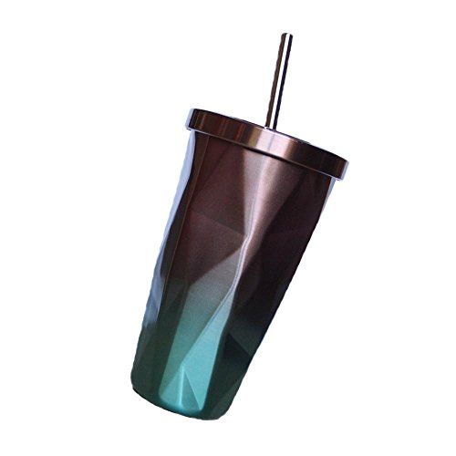 YJYDADA Insulated Travel Coffee Thermal Cup 500ml Double Wal