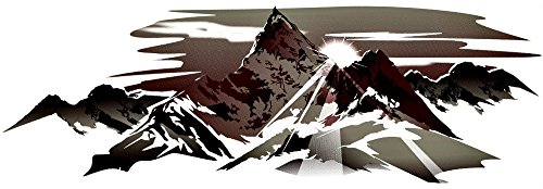Keystone 1 New Boat Rv Trailer Mountain Decals Graphics-630