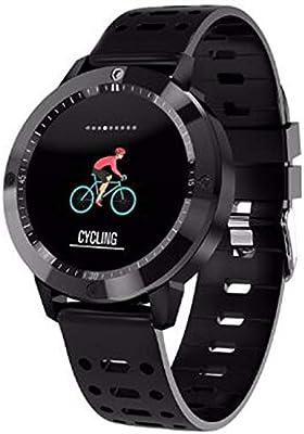 WMWMY Reloj Inteligente Hombre De Frecuencia Cardiaca Presión Arterial Smart Fitness Reloj Deportivo Pulsera Brazalete Pulsera Inteligente Smart Tracker, 2