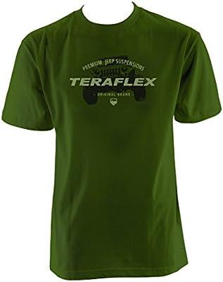 Mens 3XL XXXLarge Original Brand Teraflex 5218714 Army Green T-Shirt
