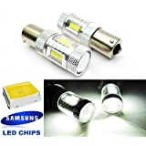 LEDIN 2x SAMSUNG 1156 Projector LED Engine Compartment Light Bulb 7506 P21W BA15s