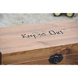 Lockable Personalized Toy Box - Toy Storage Box - Wooden Toy Box - Wooden Toy Box - Kids Toy Chest - Wooden Chest - Keepsake Box - Memory Box