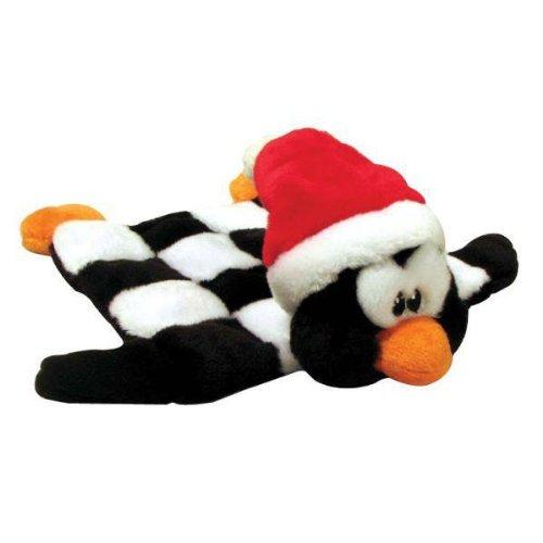 Outward Hound Kyjen  Holiday Squeaker Mat, Medium, Penguin
