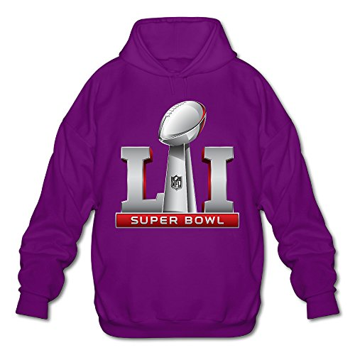 Men's Super Bowl 51 Li Logo 2017 Hoodies