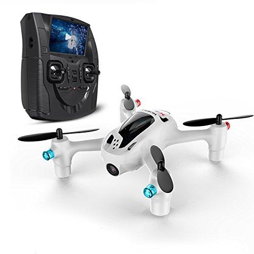Hubsan H107D+X4 FPV PLUS ドローン1080P HDカメラ付き 液晶モニター付き 5.8G FPV リアルタイム ヘッドレスモード 高度維持 3D宙返り機能付き4CH 6軸ジャイロ