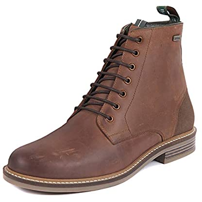 Barbour Mens Seaham Derby Walking Outdoor Hiking Trekking Ankle Boots - Conker 1