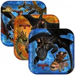 How to Train Your Dragon 2 Dessert Plates (8)
