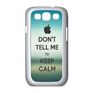 Yoda Keep Calm Samsung Galaxy S3 9300 Cell Phone Case White J9887004