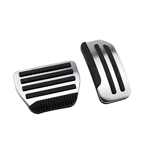WANWU Non-Drill Gas Brake AT Foot Pedal For Nissan Tiida Livina 2011 2015 Sylrh 2014 Sunny 2014 2015