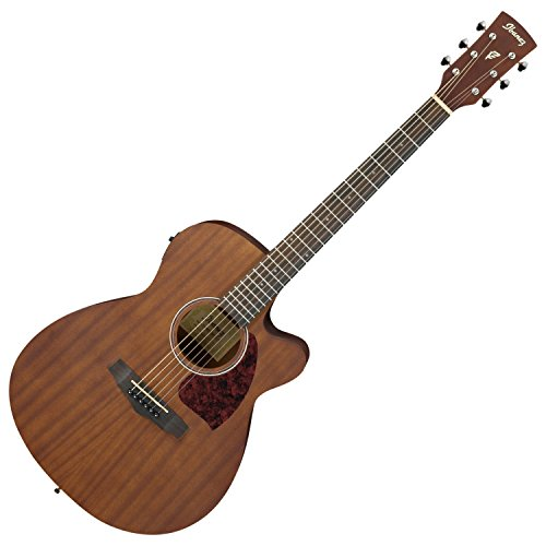Acoustic Electric Guitar Natural Satin - Ibanez Performance Series PC12MHCEOPN Grand Concert Acoustic-Electric Guitar Satin Natural