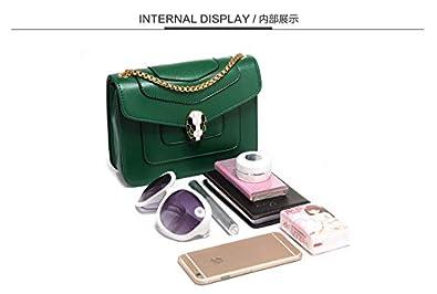 5ae95adadc761 Fashion Green Shoulder Bag For Women Summer Style Chain Crossbody Bag  Ladies Dress HandBag  Amazon.ae  TopMen uae