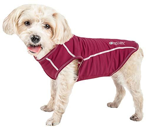 (Pet Life Active 'Racerbark' 4-Way Stretch Performance Active Dog Tank Top T-Shirt, X-Large,)