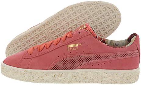 PUMA Basket X Caro X Rose Femme: : Chaussures et Sacs