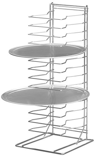 Channel Manufacturing PR-15W 15 Slot Wall Mounted Pizza Pan Rack