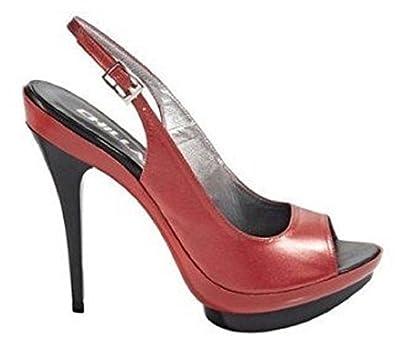Rouge Femme Chillany Orange Sandalette Sandales Pour 7xwSa1Zfq