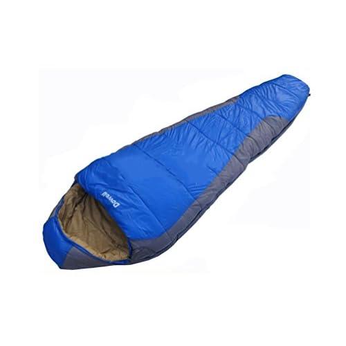 sac de couchage Alpinisme en plein air de camping adulte sac de couchage printemps et en automne ultraléger Voyage momie momie sac de camping de couchage pour garder au chaud sac de couchage en plein air