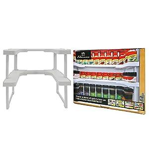 Amazon.com: Edenware Expandable Spice Rack and Cabinet Organizer ...