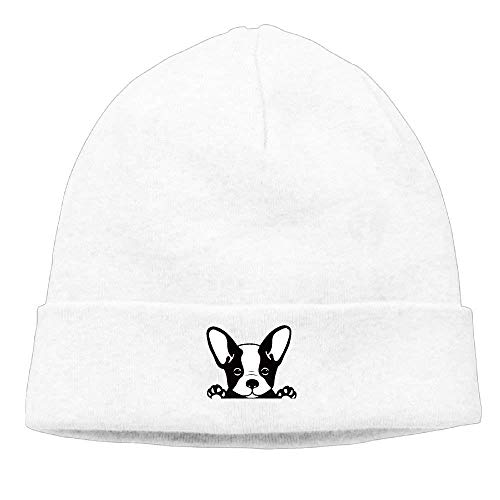 Bulldog Winter Unisex Flock RJHNcase Cap Wool Warm Beanie Knit French Hat Cotton Ski B4qw0