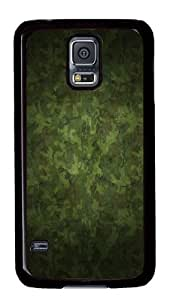 Samsung Galaxy S5 Cases - Military Camouflage Patterns PC Protective Case Cover for Samsung Galaxy S5 - Black hjbrhga1544