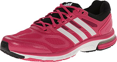 adidas Running Womens Supernova Sequence 6 W Bahia Pink/Running White/Black Sneaker 8 B (M)