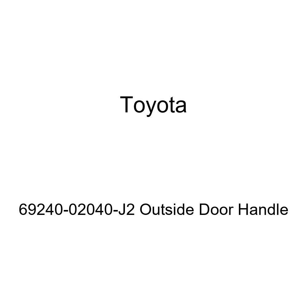 Toyota 69240-02040-J2 Outside Door Handle