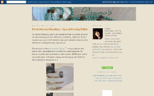 Dawno's Beaded Lanyards & Jewelry