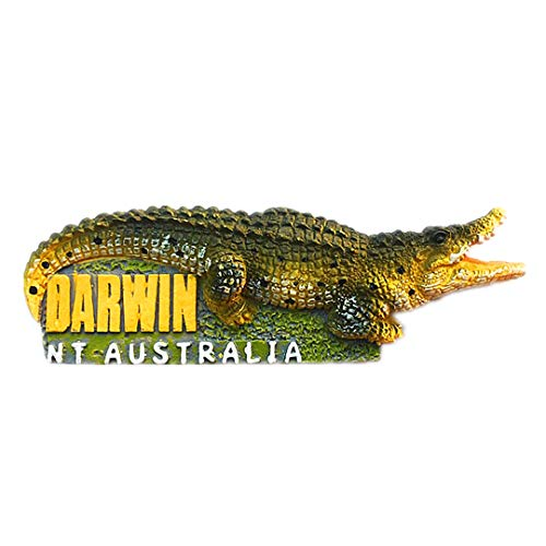 - Darwin Crocodile Park Australia 3D Refrigerator Fridge Magnet Travel City Souvenir Collection Kitchen Decoration White Board Sticker Resin