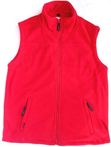 Bodywarmer Xl nbsp;x Taille Grande M Veste Rouge Vest Unisexe 8 Polaire Manches Sans De Brigg IC6BFqwO