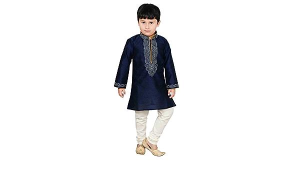 Boys Indian sherwani Navy Kurta Pajama for Bollywood theme party wear /& EID 908