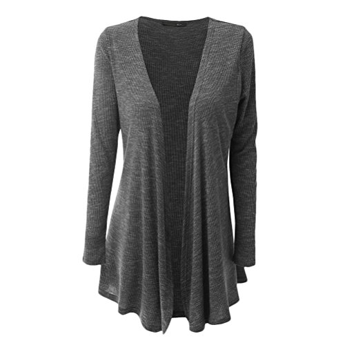 Zhhlaixing 美しさ Womens Plus Size Long Cardigan Thin Slim Fit Outerwear Comfortable Easy to Match Clothes Fashion Style
