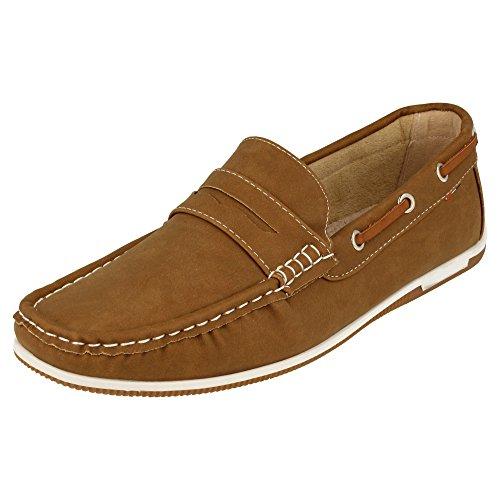 Metálicos Antifaz Náutico Zapato y Piso Beige con Cordones con Laterales Clásicos los BlanOfDqe6bWCx Remaches FqAAfxn