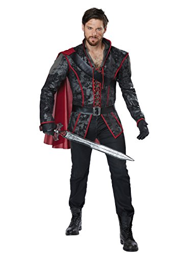 California Costumes Men's Storybook Huntsman Adult Man Costume, Black/Burgundy, Large