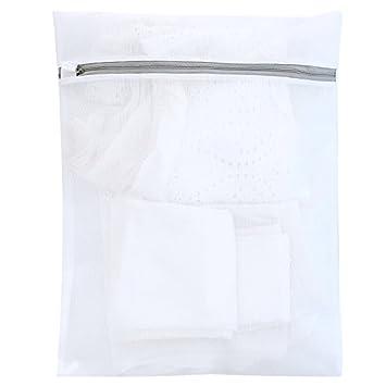 Bra gruesa bolsa para la ropa sucia y lavar la ropa y ropa interior bolsa lavadora