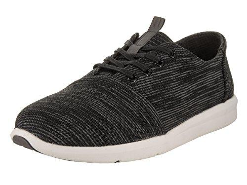 TOMS Men's Del Rey Black/Multi Casual Shoe 8.5 Men US (Multi Black Tom)