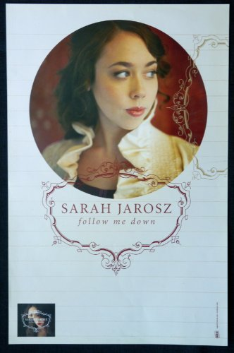 Sarah Jarosz - Follow Me Down - Rare Advertising Poster